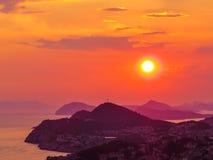 tajemniczy słońca Zdjęcie Royalty Free