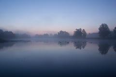 tajemniczy wschód słońca Zdjęcie Royalty Free