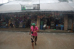 Tajfun Filipiny Obrazy Stock