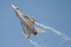 Tajfunu myśliwiec odrzutowy Zdjęcie Royalty Free