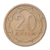 Tajik coin Royalty Free Stock Image