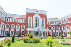 Tajik National University. Dushanbe, Tajikistan Royalty Free Stock Photography