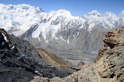 Tajikistan gór widok 5 Zdjęcia Stock