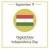 Tajikistan Independence Day, September 9 Royalty Free Stock Photos