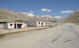 Tajikistan Pamir Highway Royalty Free Stock Photos