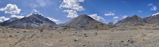 Tajikistan panorama Stock Image