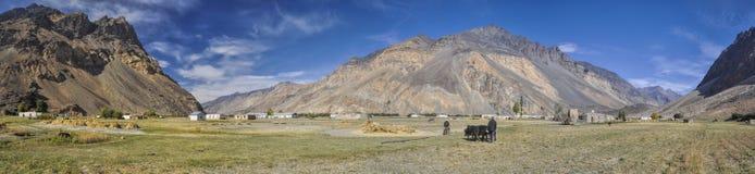 Tajikistan panorama Stock Images