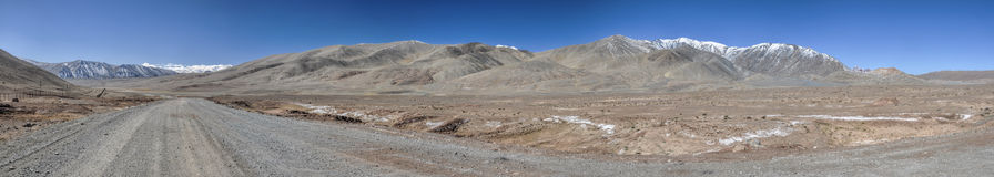 Tajikistan panorama Royalty Free Stock Photo