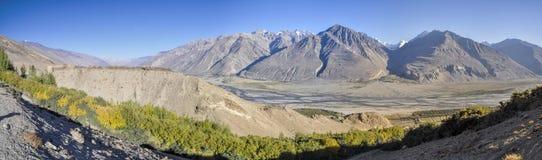 Tajikistan panorama Stock Photo