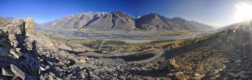 Tajikistan panorama Royalty Free Stock Photo