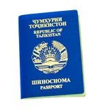 Tajikistan passport Stock Images