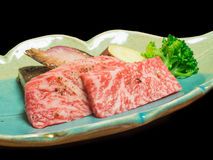 Tajima beef is high quality beef of Japan Royalty Free Stock Images