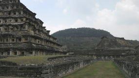Tajin. Prehispanic city in Papantla Royalty Free Stock Image