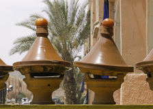Tajin at a restaurant in morocco Stock Photography