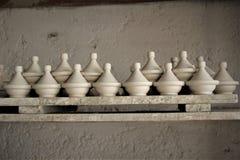 Tajine传统摩洛哥烹调厨具 图库摄影