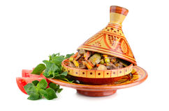 Tajine with beef Royalty Free Stock Photography