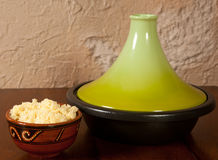 Tajine dish closed Royalty Free Stock Images