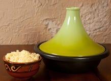 Tajine dish closed Royalty Free Stock Images