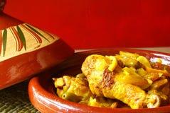 Tajine marocchino Fotografie Stock