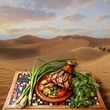 Tajine in Marokko lizenzfreie stockfotos