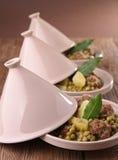 Tajine,meatball and vegetable Stock Photography
