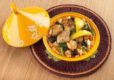 Tajine, Moroccan food. Stock Photos