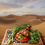 Tajine in Morocco Royalty Free Stock Photos