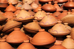 Tajine pots Stock Photography