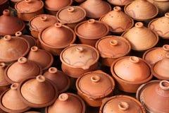 Tajine pots Stock Images