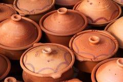 Tajine pots Royalty Free Stock Photography