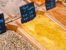 Tajine spices порошок Стоковая Фотография RF