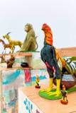 Tajlandia Ð ¡ zodiaka hinese statuy W Koh Samui Podróż, turystyka zdjęcie royalty free