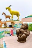 Tajlandia Ð ¡ zodiaka hinese statuy W Koh Samui Podróż, turystyka Obraz Royalty Free