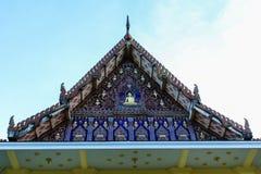 Tajlandia świątynia przy rayong miastem. Obraz Royalty Free