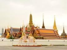 Tajlandia świątynia - Wat phra Kaew Obrazy Stock