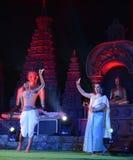 Tajlandia artysta w Bodhgaya, Bihar, India obrazy royalty free