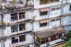 Tajlandia Bangkok drapaczy chmur tekstury Windows budynków domy Tr Obrazy Stock