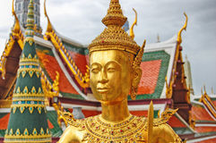 Tajlandia Bangkok Uroczysty pałac Zdjęcia Royalty Free