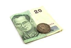 Tajlandia banknoty Zdjęcia Stock
