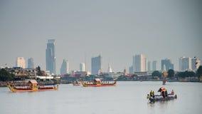 Tajlandia barki Królewski korowód Zdjęcie Stock