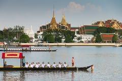 Tajlandia barki Królewski korowód Obraz Royalty Free