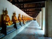 Tajlandia buddysty statua Obraz Royalty Free