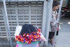 Tajlandia, Chiang Mai mniejszości etniczne obraz stock