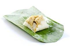 Tajlandia custard ryżowi desery, lud, miękka część, słodki smaku delicio Obrazy Stock
