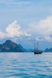 Tajlandia dżonki łódkowaty rejs Obraz Royalty Free