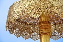 Tajlandia, doi suthep świątynia w Chiang mai, złocista stupa jako symbo zdjęcie royalty free
