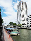 Tajlandia: Dzień na Lipu Wodnego ruchu drogowego warunki na Obrazy Royalty Free