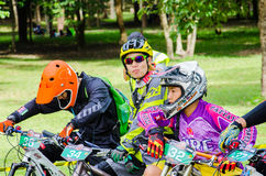 Tajlandia Enduro serie 2014 Zdjęcia Royalty Free