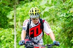 Tajlandia Enduro serie 2014 Obraz Royalty Free