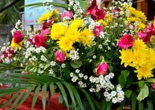Tajlandia festivel sztuki kwiat obrazy stock